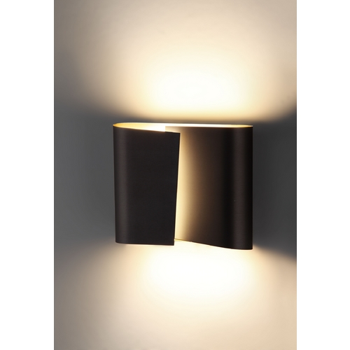 Holtkoetter Lighting Holtkoetter Modern Sconce Wall Light in Hand-Brushed Old Bronze Finish 8532 HBOB