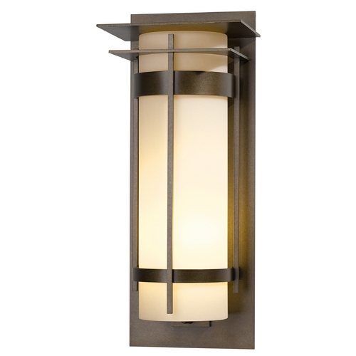 Hubbardton Forge Lighting Hubbardton Forge Lighting Banded Bronze Outdoor Wall Light 305995-SKT-05-ZX0240