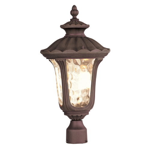 Livex Lighting Livex Lighting Oxford Imperial Bronze Post Light 7659-58