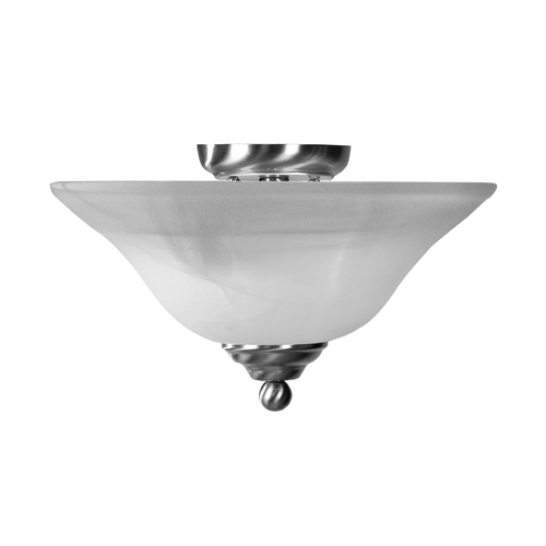 Livex Lighting Livex Lighting Brushed Nickel Semi-Flushmount Light 4164-91