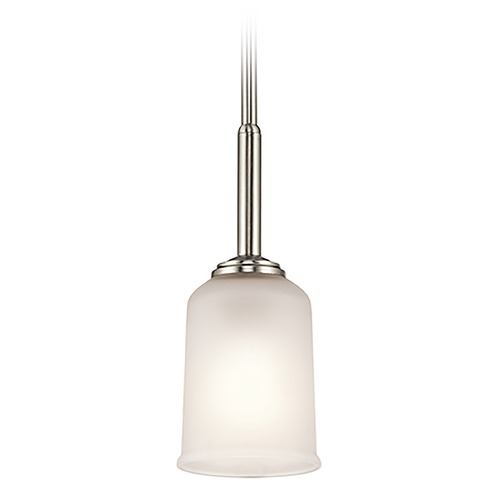 Kichler Lighting Kichler Lighting Shailene Mini-Pendant Light with Bowl / Dome Shade 43674NI