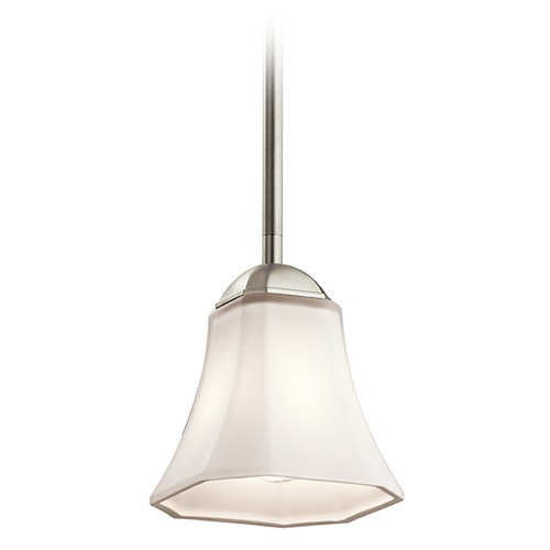 Kichler Lighting Kichler Lighting Serena Mini-Pendant Light with Bell Shade 43634NI