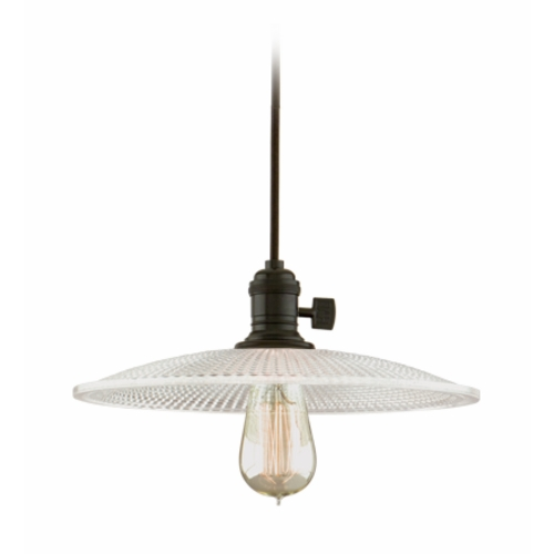 Hudson Valley Lighting Pendant Light with Clear Glass in Old Bronze Finish 8001-OB-GM4