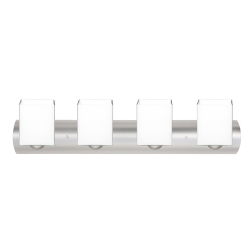 Besa Lighting Besa Lighting Rise Satin Nickel LED Bathroom Light 4WZ-449807-LED-SN