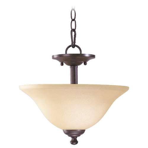 Quorum Lighting Quorum Lighting Spencer Toasted Sienna Pendant Light 2810-13-44