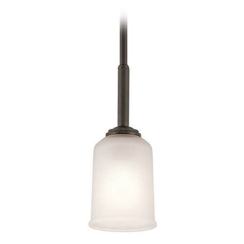 Kichler Lighting Kichler Lighting Shailene Mini-Pendant Light with Bowl / Dome Shade 43674OZ