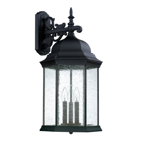 Capital Lighting Capital Lighting Main Street Black Outdoor Wall Light 9838BK