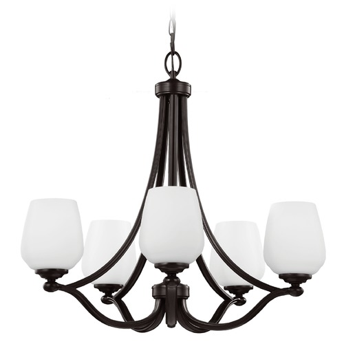 Feiss Lighting Feiss Lighting Vintner Heritage Bronze Chandelier F2960/5HTBZ