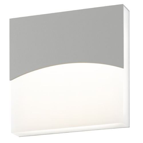 Sonneman Lighting Sonneman Aku Textured Gray LED Outdoor Wall Light 7216.74-WL