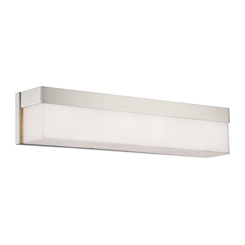 Crystorama Lighting Crystorama Lighting Grayson Polished Nickel Bathroom Light 294-PN