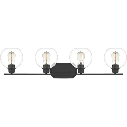 Quoizel Lighting Quoizel Lighting Pruitt Matte Black Bathroom Light PRUC8636MBK