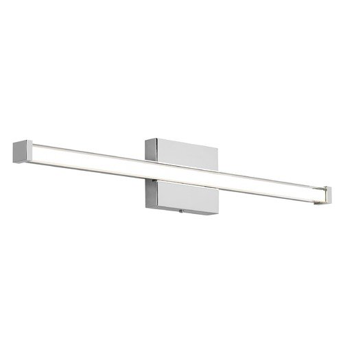 Tech Lighting Gia Chrome LED Bathroom Light Vertical / Horizontal Mounting by Tech Lighting 700BCGIAR348CC-LED930