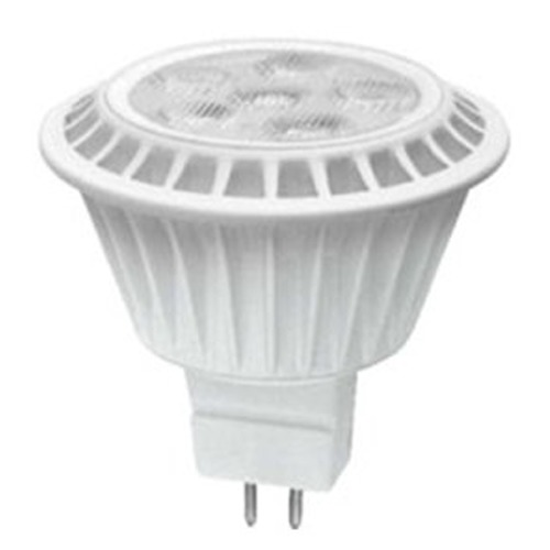 TCP Lighting 7W Bi-Pin LED Bulb MR-16 Flood 425LM 2700K Dimmable LED712VMR16927KNFL