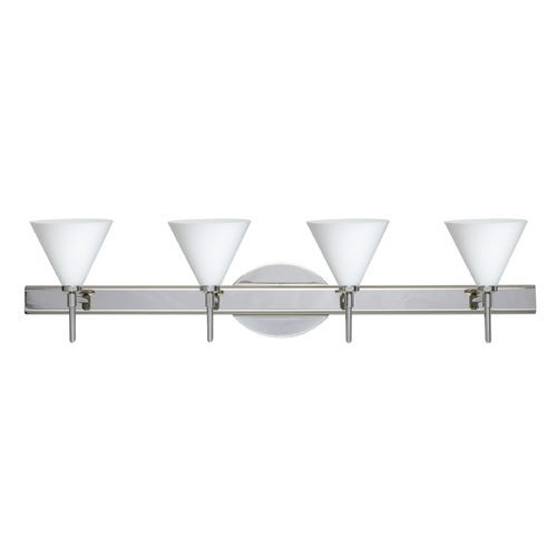 Besa Lighting Besa Lighting Kani Chrome Bathroom Light 4SW-512107-CR