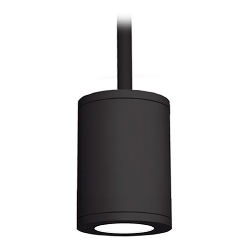 WAC Lighting 5-Inch Black LED Tube Architectural Pendant 3500K 2190LM DS-PD05-S35-BK