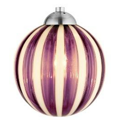 Oggetti Lighting Oggetti Lighting Perle Satin Nickel Mini-Pendant Light with Globe Shade 18-184B