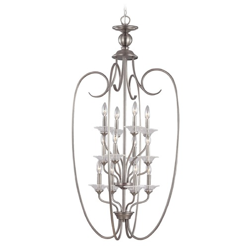 Sea Gull Lighting Sea Gull Lighting Lemont Antique Brushed Nickel Pendant Light 51318-965