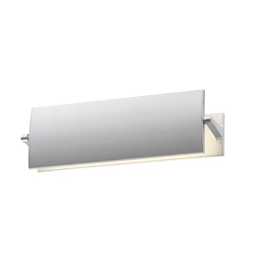 Sonneman Lighting Sonneman Aileron Bright Satin Aluminum LED Sconce   2700.16