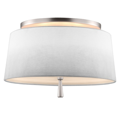 Feiss Lighting Feiss Lighting Tori Satin Nickel Semi-Flushmount Light SF316SN