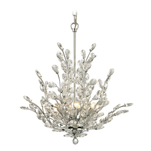 Elk Lighting Elk Lighting Crystique Polished Chrome Mini-Chandelier 45262/6