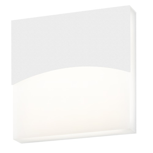 Sonneman Lighting Sonneman Aku Textured White LED Outdoor Wall Light 7216.98-WL