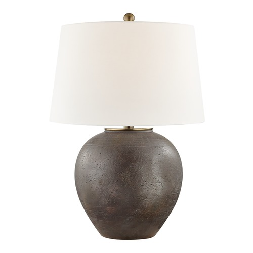 Hudson Valley Lighting Hudson Valley Lighting Freeman Burnt Sienna Table Lamp with Empire Shade L1069-BS