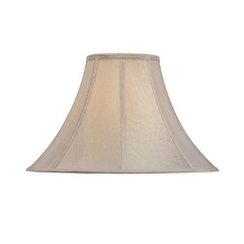 Dolan Designs Lighting Round Bell Soft Back Lamp Shade with Piping 140064