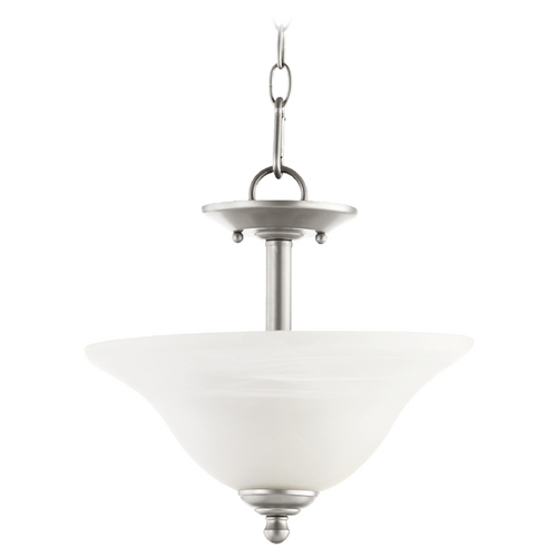 Quorum Lighting Quorum Lighting Spencer Classic Nickel Pendant Light 2810-13-64