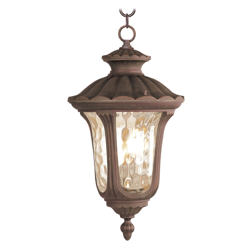 Livex Lighting Livex Lighting Oxford Imperial Bronze Outdoor Hanging Light 7658-58