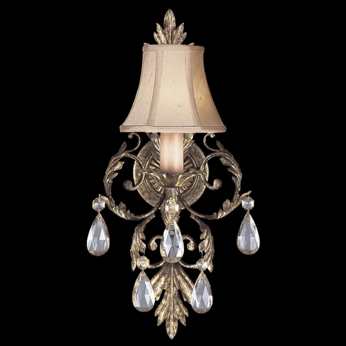Fine Art Lamps Fine Art Lamps a Midsummer Nights Dream Cool Moonlit Patina Sconce 163150ST