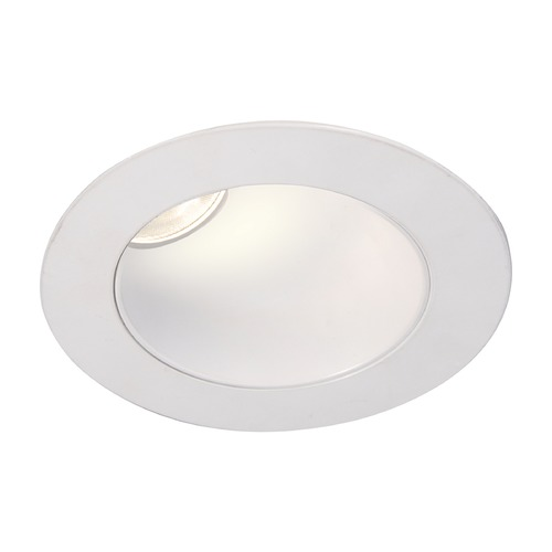 WAC Lighting WAC Lighting Round White 3.5-Inch LED Recessed Trim 2700K 975LM 38 Degree HR3LEDT418PF827WT