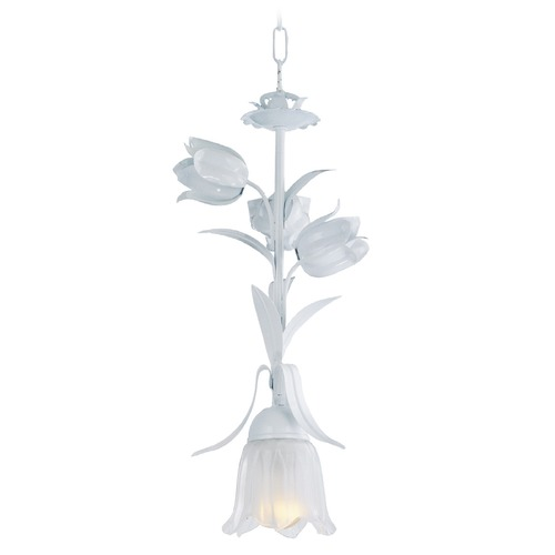 Crystorama Lighting Crystorama Lighting Southport Wet White Mini-Pendant Light 4821-WW