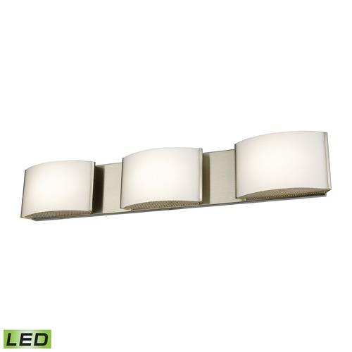 Alico Industries Lighting Alico Lighting Pandora LED Satin Nickel LED Bathroom Light BVL913-10-16M