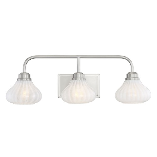 Savoy House Savoy House Lighting Darlington Satin Nickel Bathroom Light 8-2410-3-SN