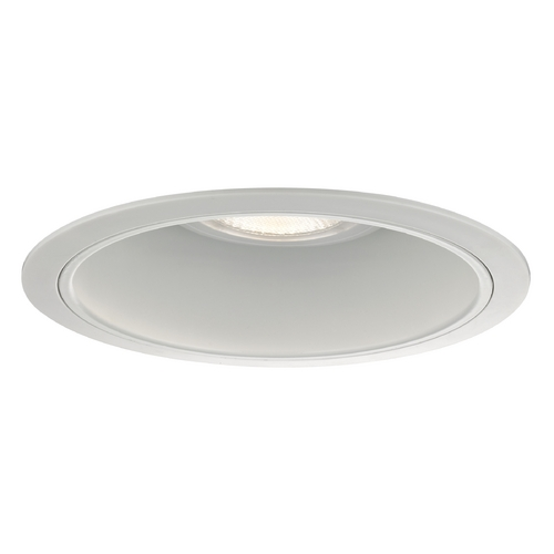 Recesso Lighting by Dolan Designs White Reflector Trim for 6-Inch Recessed Housings T600W-WH