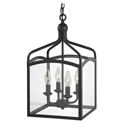 Design Classics Lighting Preston Square Lantern Pendant Entryway Light 873-78