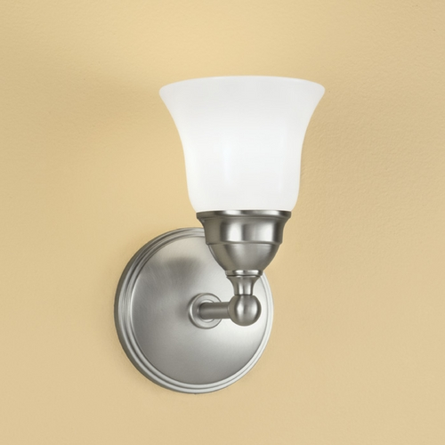 Norwell Lighting Norwell Lighting Lenox Polished Nickel Sconce 8550-PN-SO