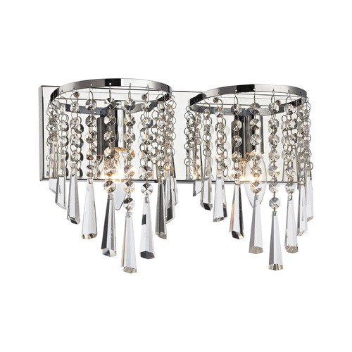 Elk Lighting Elk Lighting Jariah Polished Chrome Bathroom Light 45271/2