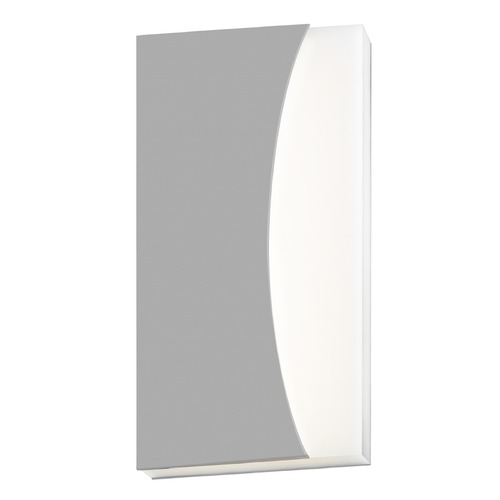 Sonneman Lighting Sonneman Nami Textured Gray LED Outdoor Wall Light 7218.74-WL