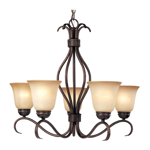 Maxim Lighting Maxim Lighting Basix Oil Rubbed Bronze Chandelier 10125WSOI