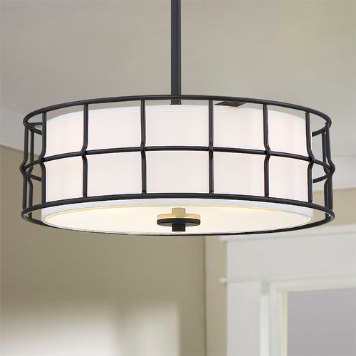 Savoy House Savoy House Hayden Black Convertible Semi-Flush Mount 6-8502-3-89