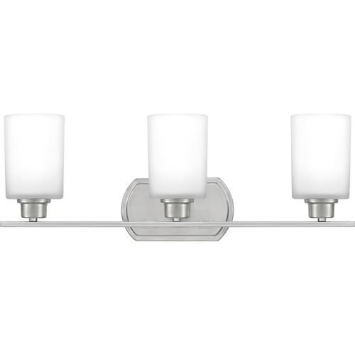Quoizel Lighting Quoizel Lighting Pruitt Brushed Nickel Bathroom Light PRUO8626BN