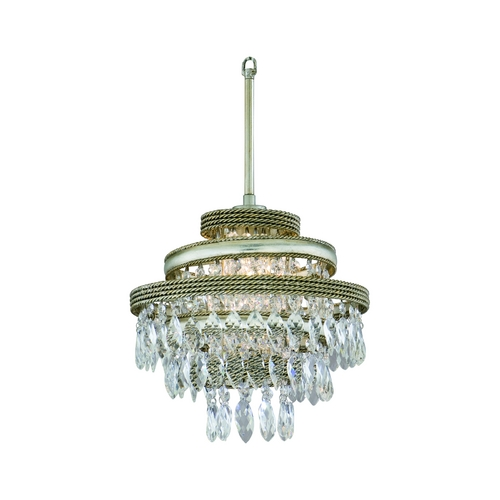 Corbett Lighting Corbett Lighting Diva Silver Leaf W/gold L Pendant Light 132-41