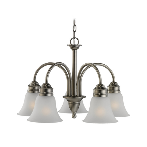 Sea Gull Lighting Chandelier in Antique Brushed Nickel Finish 31851-965