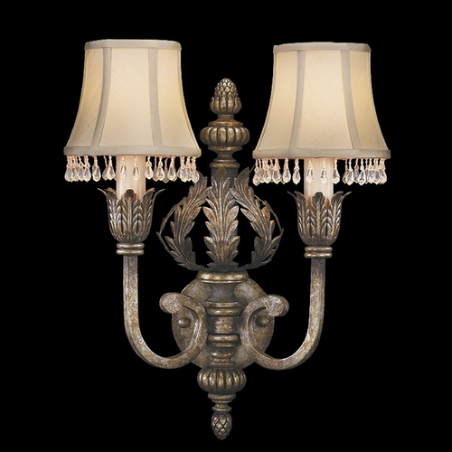 Fine Art Lamps Fine Art Lamps a Midsummer Nights Dream Cool Moonlit Patina Sconce 213350ST