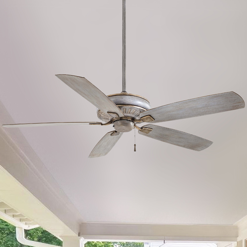 Minka Aire 60-Inch Minka Aire Fans Sunseeker Driftwood Ceiling Fan Without Light F532-DRF