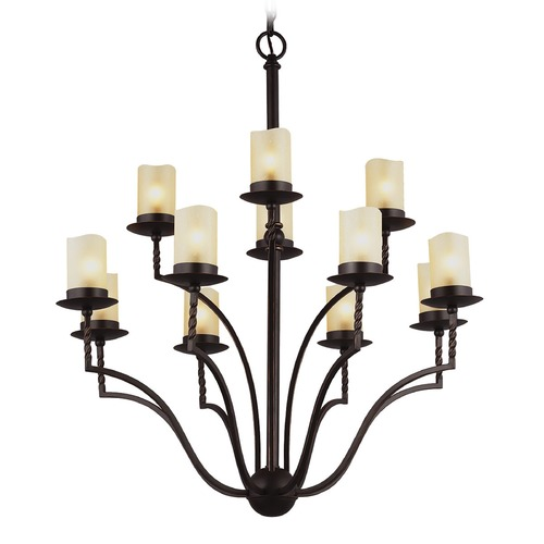 Sea Gull Lighting Sea Gull Lighting Trempealeau Roman Bronze Chandelier 3110612-191