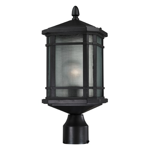 Elk Lighting Elk Lighting Lowell Matte Black Post Light 87044/1