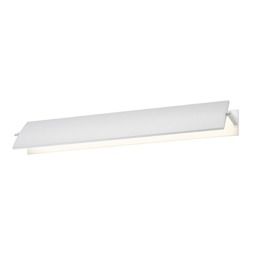 Sonneman Lighting Sonneman Aileron Textured White LED Sconce   2702.98