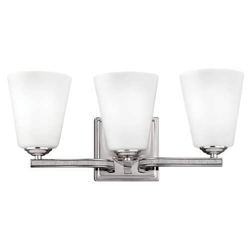 Feiss Lighting Feiss Lighting Pave Polished Nickel Bathroom Light VS20203PN